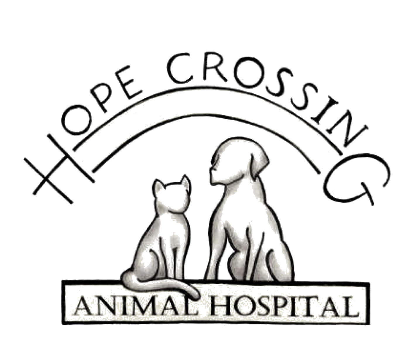Hope Crossing Animal Hospital logo
